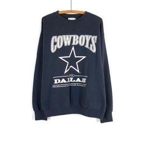LeeSport Vintage Sweatshirt Dallas Cowboy's XL